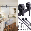 6' Barn Door Sliding Track & Hardware