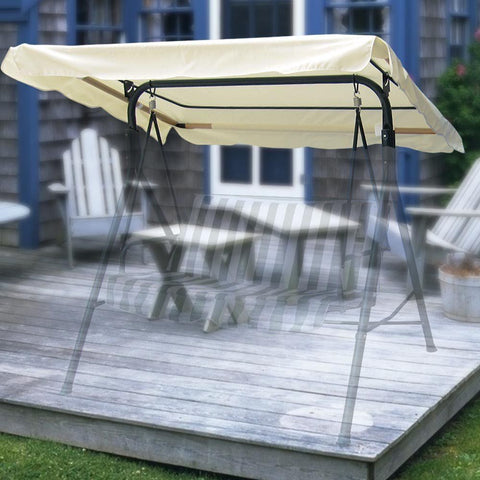 Image of Beige Patio Canopy Top Replacement