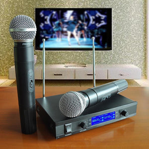 Dual Wireless Microphone System