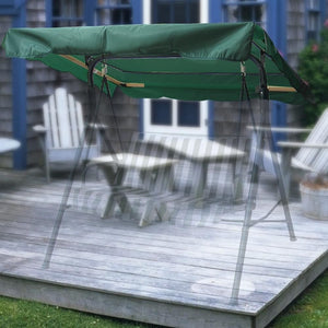 Green Patio Canopy Top Replacement
