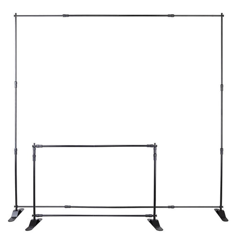 Image of Telescopic Backdrop Banner - Up to 8' x 8'