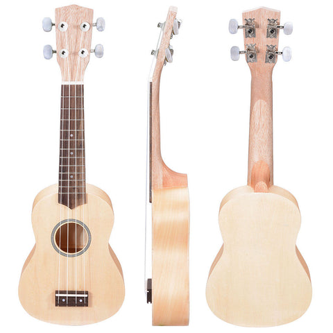 Soprano Ukulele Kit - Basswood