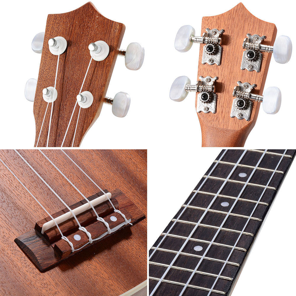 Sapele Wood Ukulele Kit