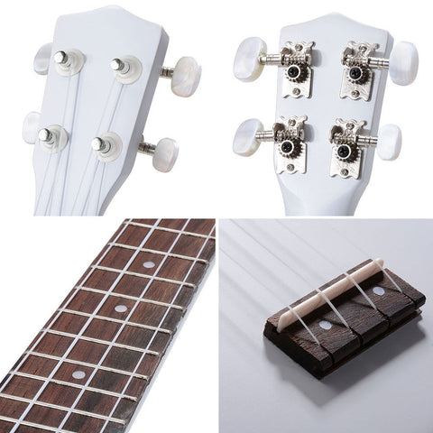 Image of Soprano Ukulele Kit - White