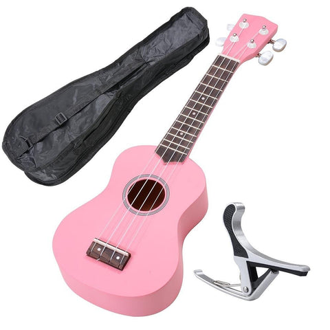 Image of Soprano Ukulele Kit - Pink