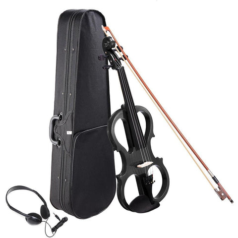 Image of 4/4 Electric Violin with Case & Headphones