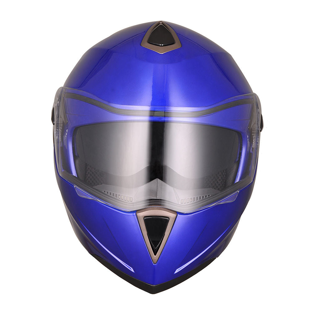 Blue Motorcycle Helmet