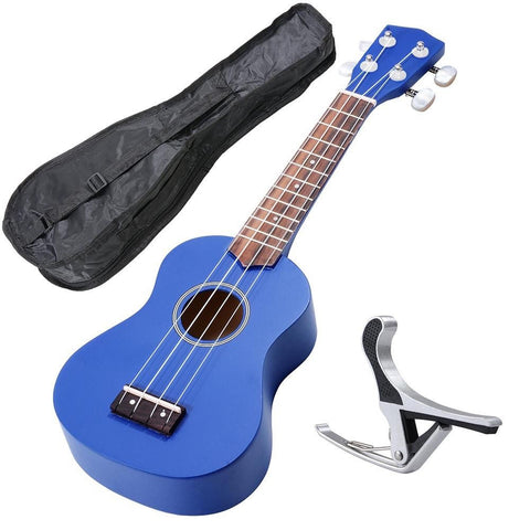 Image of Soprano Ukulele Kit - Blue