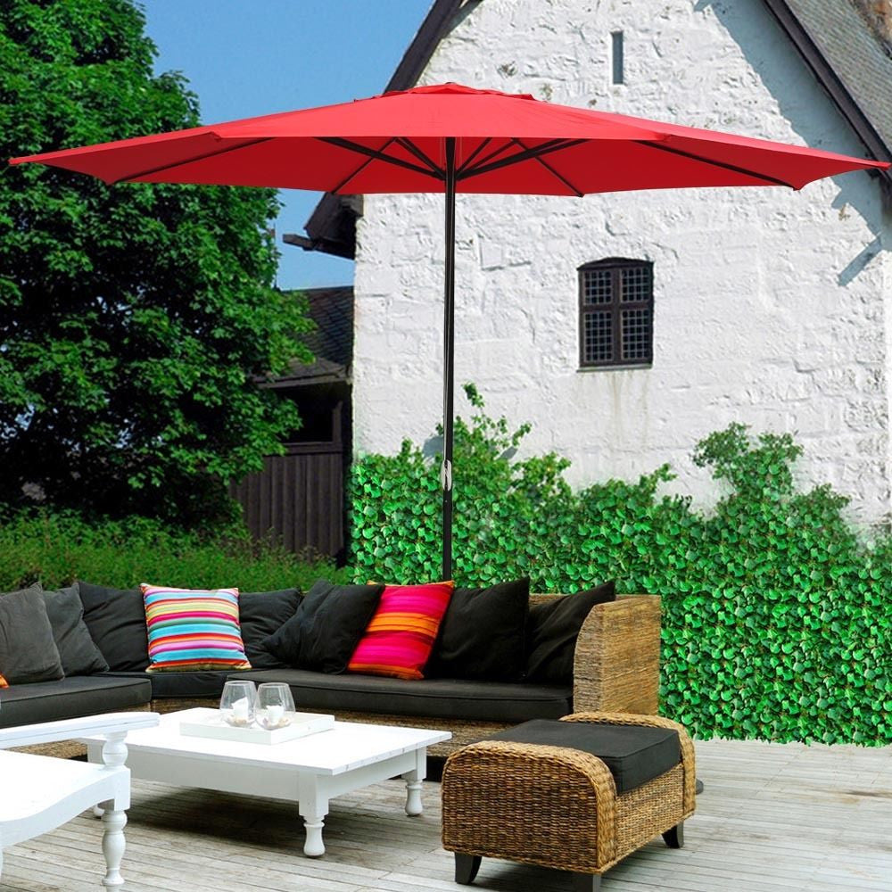 13' Patio Umbrella w/Aluminum Pole