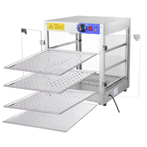 3-Tier Commercial Food Warmer