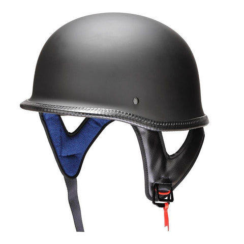 Image of German-Style Motorcycle Helmet