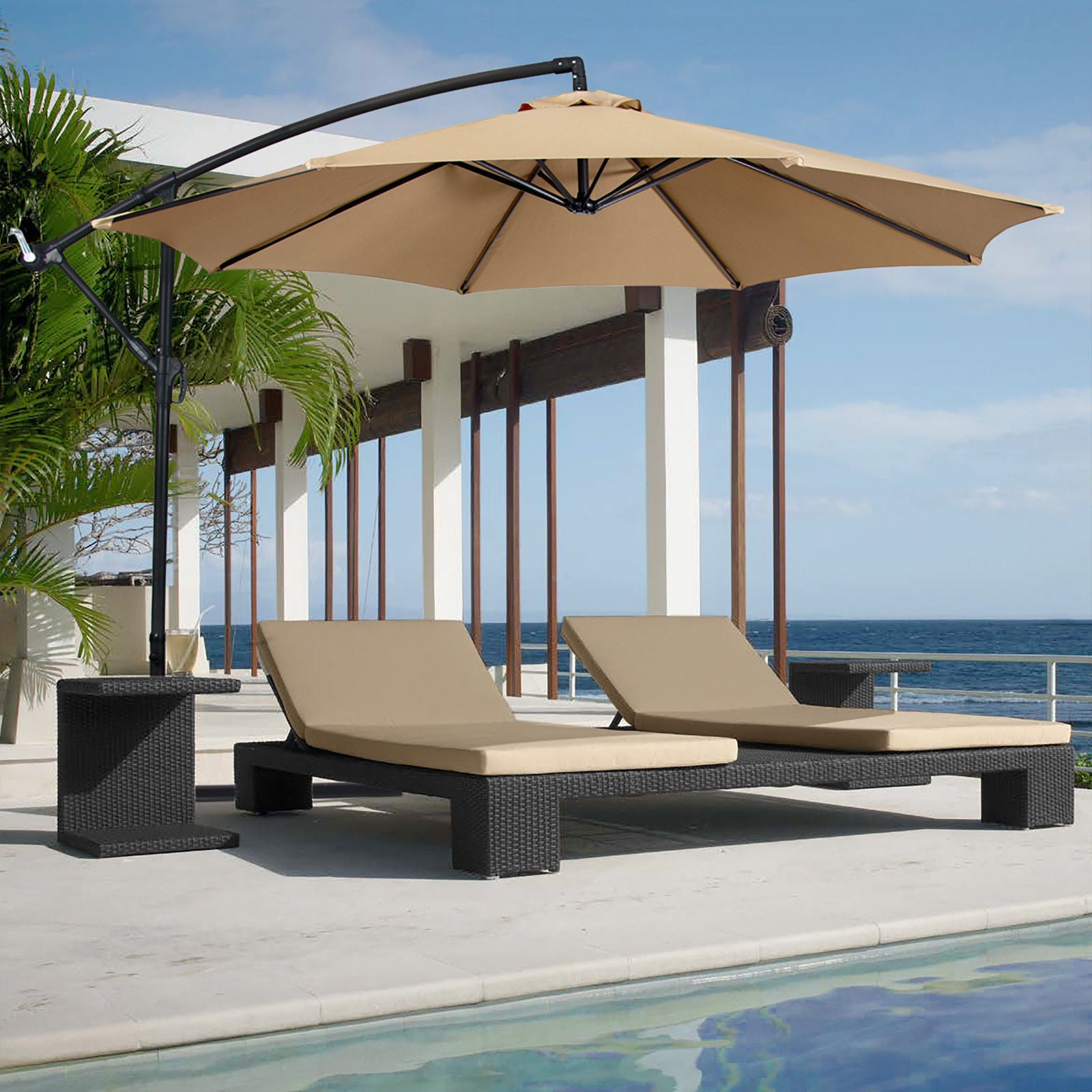 10 Cantilever Patio Umbrella
