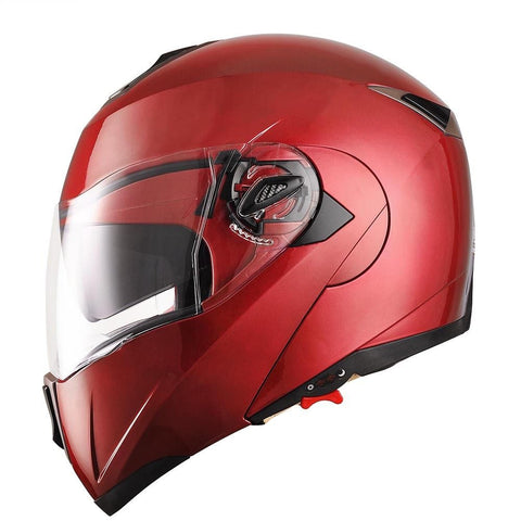 Image of Red Motorcycle Helmet