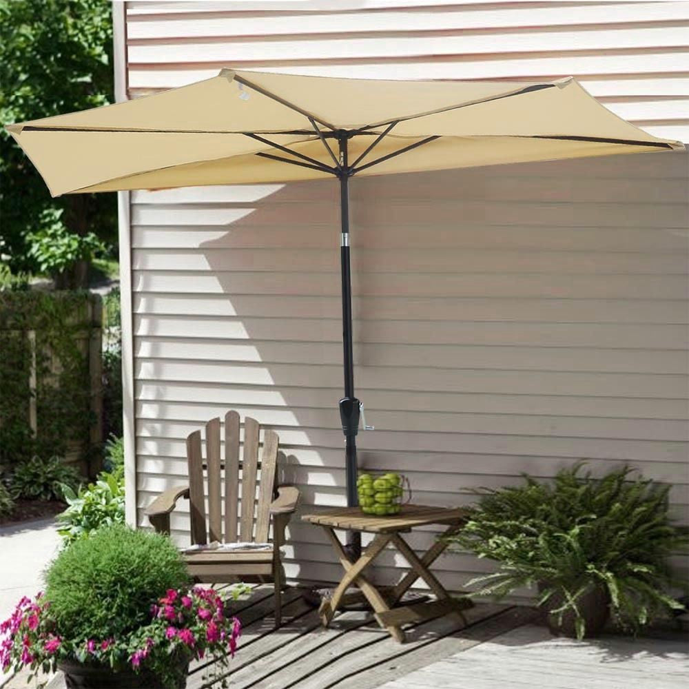 10' Half Patio Umbrella