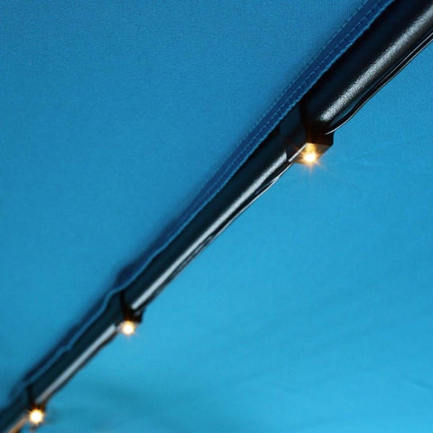 8'/9' Patio Umbrella Light String