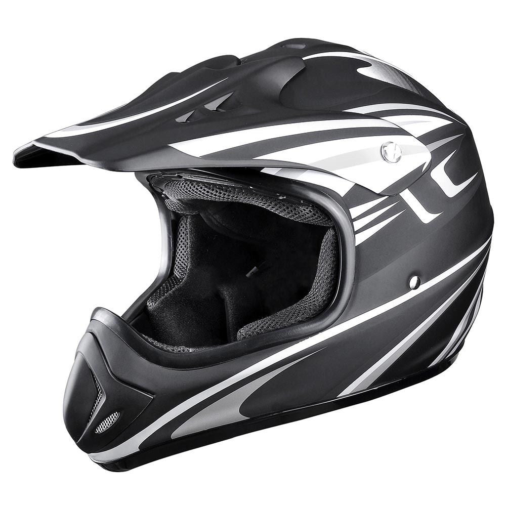Black Dirt Bike Helmet