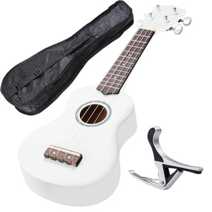 Soprano Ukulele Kit - White