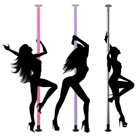 Portable Dance Pole w/Carrying Bag