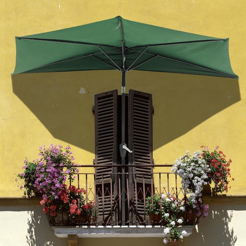 Image of 10' Half Patio Umbrella