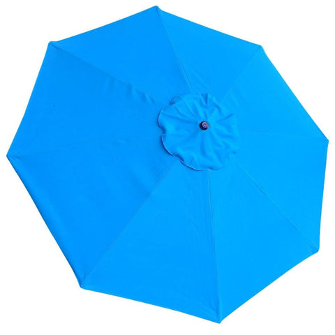 9' Patio Umbrella w/Wooden Pole