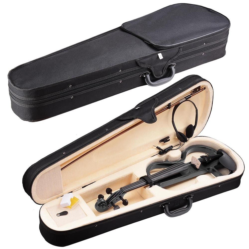 3/4 Electric Violin w/Case & Headphones