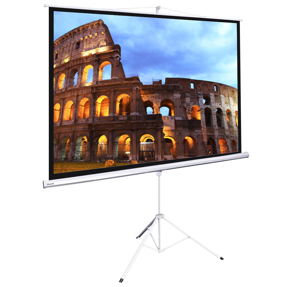 "120"" Projector Screen with Stand"