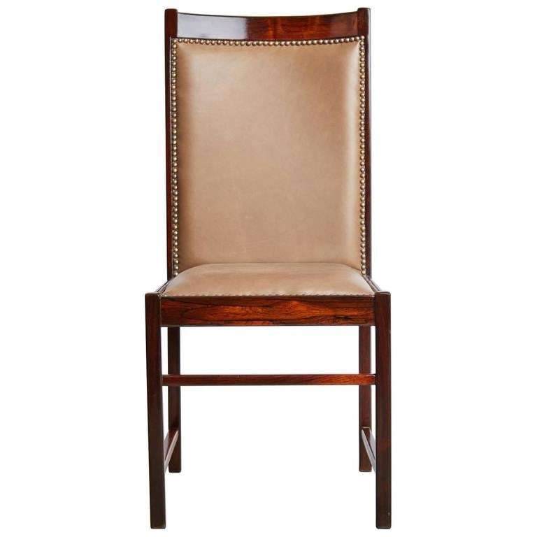 Celina Moveis Brazilian Rosewood Dining or Side Chair, circa 1960