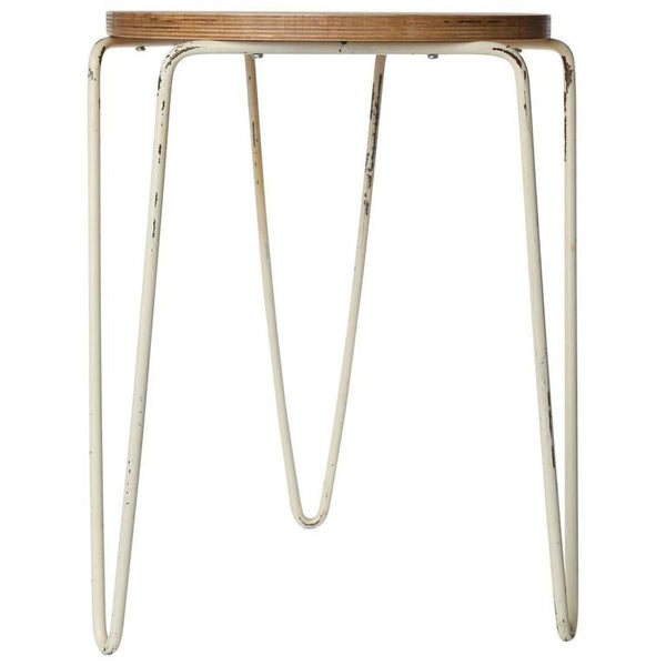 Early Florence Knoll No. 75 Stool for Knoll Associates, Circa 1950