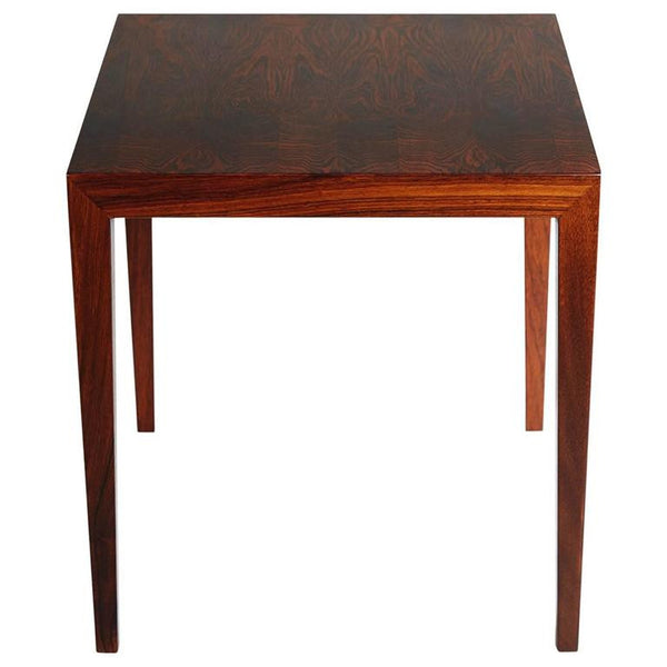 Severin Hansen Jr for Haslev Møbelsnedkeri Brazilian Rosewood End Table