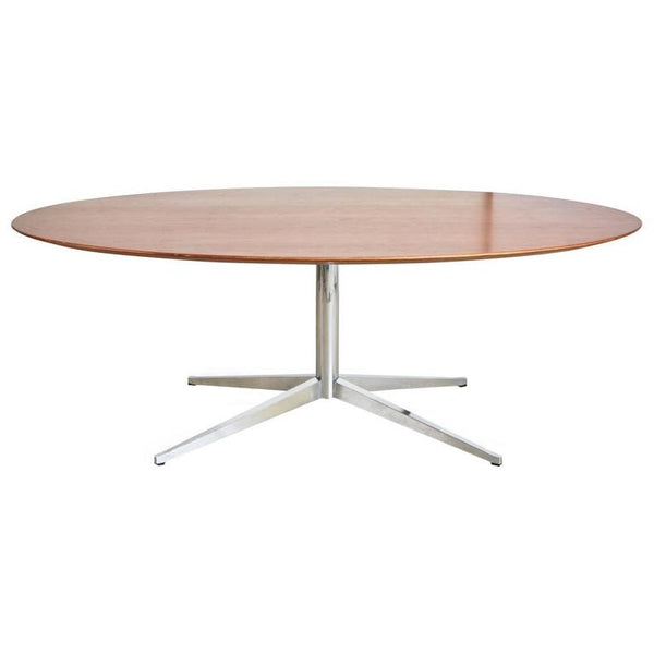 Florence Knoll for Knoll International Conference or Dining Table, Dated 1982