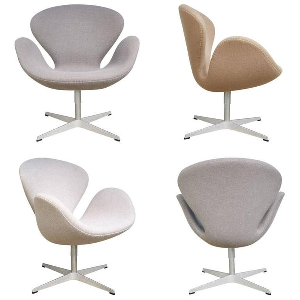Swan Chairs by Arne Jacobsen for Fritz Hansen