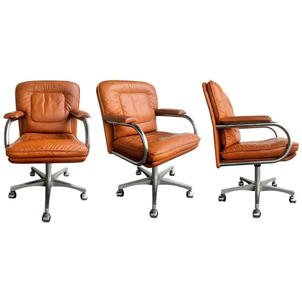Guido Faleschini Desk Chairs by Mariani for The Pace Collection