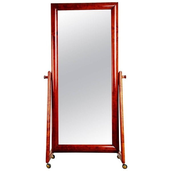 *SOLD* Italian Modern Floor Standing Cheval Mirror, circa 1960