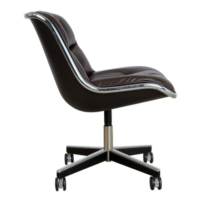 Charles Pollock for Knoll Executive Desk Chair, circa 1980