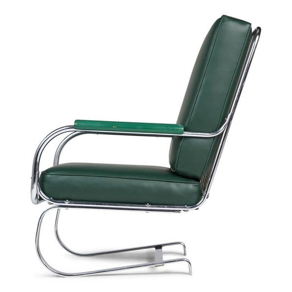 *SOLD* KEM Weber Cantilever 'Springer' Armchair for Lloyd, Circa 1930