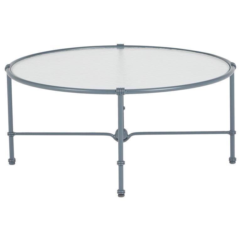 Brown Jordan Aluminum Outdoor Coffee Table, circa 1960
