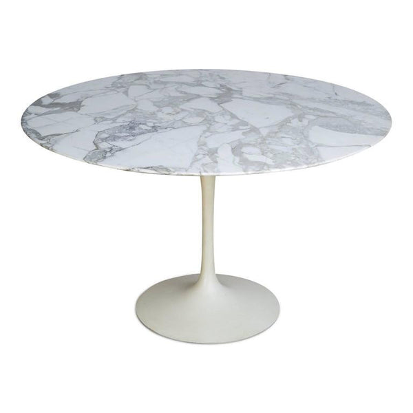 Marble Tulip Dining Table by Eero Saarinen for Knoll International, Stamped 1971