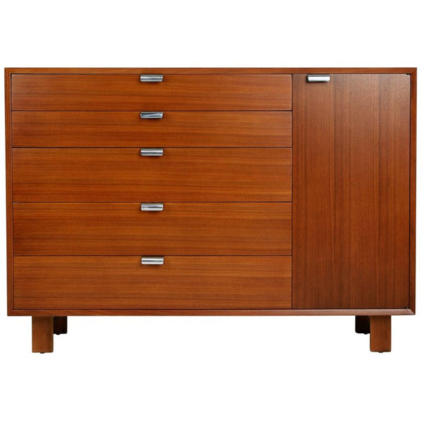 George Nelson for Herman Miller Dresser Cabinet, Signed, circa 1950