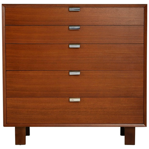 George Nelson for Herman Miller Highboy Dresser, Signed, circa 1950