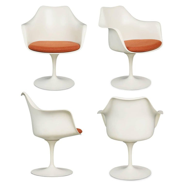 First Generation Tulip Armchairs, Eero Saarinen for Knoll Associates, circa 1959