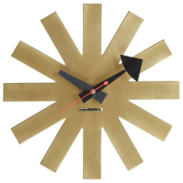 *SOLD* Asterisk Clock by George Nelson, circa 1953