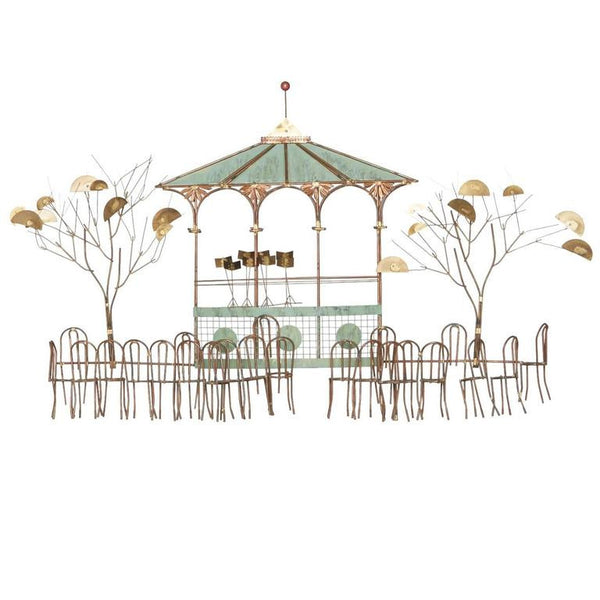 *SOLD* Bandstand Wall Hanging by C. Jeré for Artisan House - ON SALE