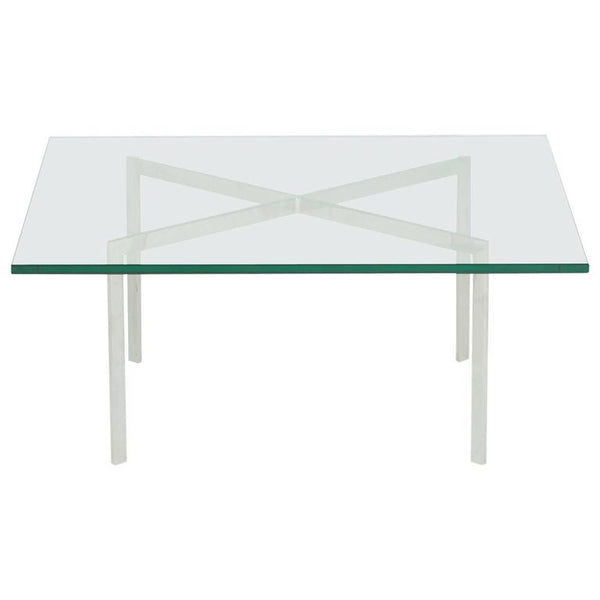 *SOLD* Barcelona Coffee Table by Ludwig Mies van der Rohe for Knoll International