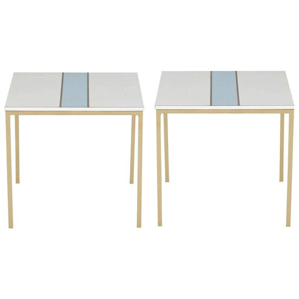 *SOLD* Cafe Tables for Bel Air Country Club in the Style of Paul Laszlo