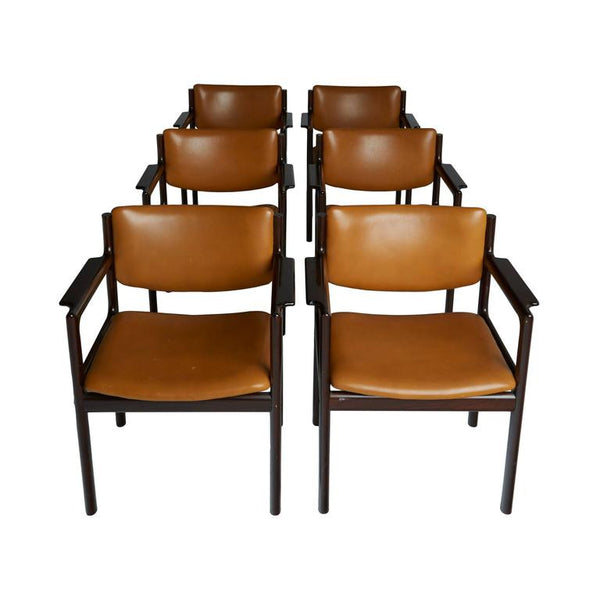 *SOLD* Danish Mid-Century Modern Rosewood Armchairs