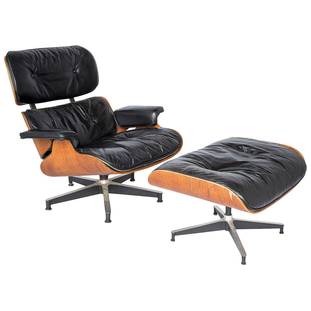 *SOLD* Eames Lounge Chair and Ottoman
