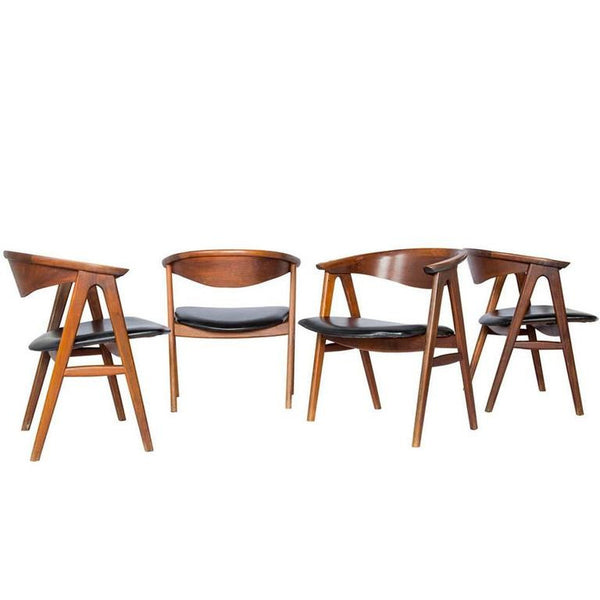 Erik Kirkegaard Danish Modern Lounge Chairs (3 left)