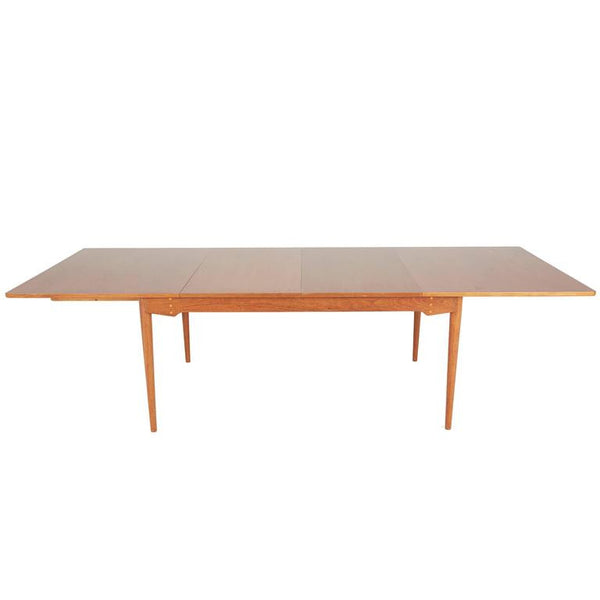 *SOLD* Finn Juhl for Baker Expandable Teak Dining Table, Restored