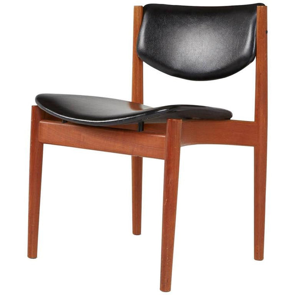 *SOLD* Finn Juhl for France & Son Teak Model 197 Side Chair, circa 1960