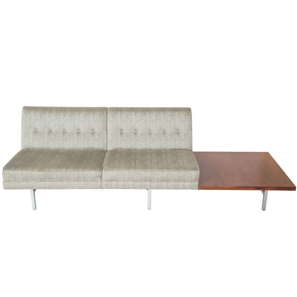 *SOLD* George Nelson Sofa with Rosewood Table for Herman Miller